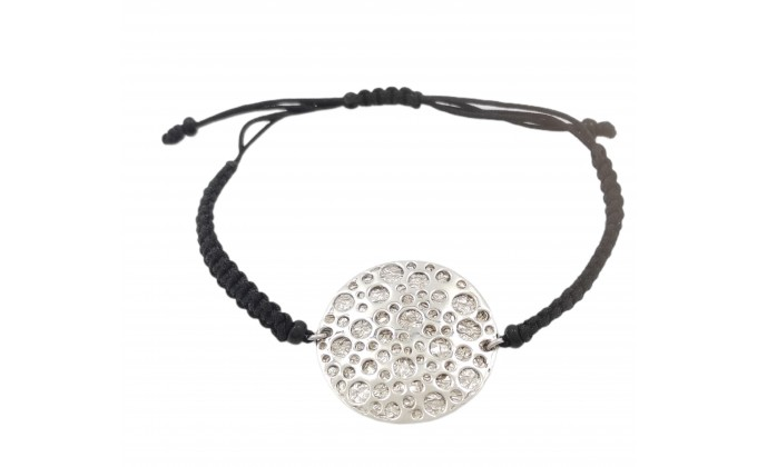 "B 34 Handmade silver bracelets ""GALAXY"""