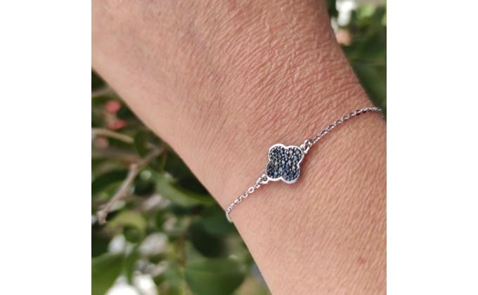 B 406 Silver bracelet