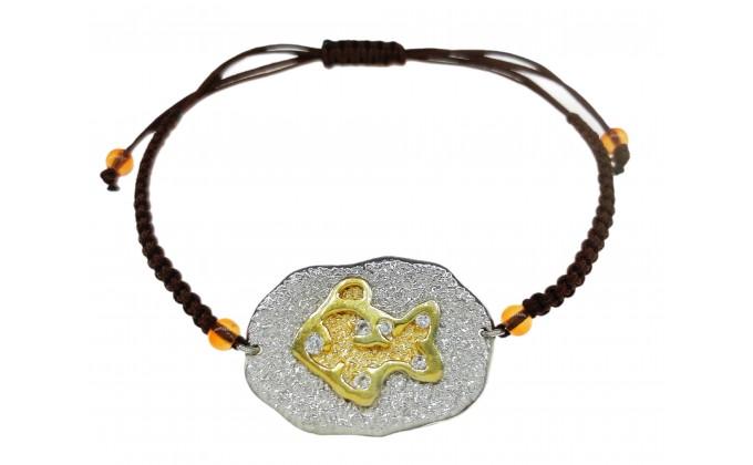 B 56 Handmade silver bracelet