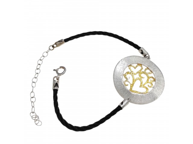 B 402 Handmade silver bracelet