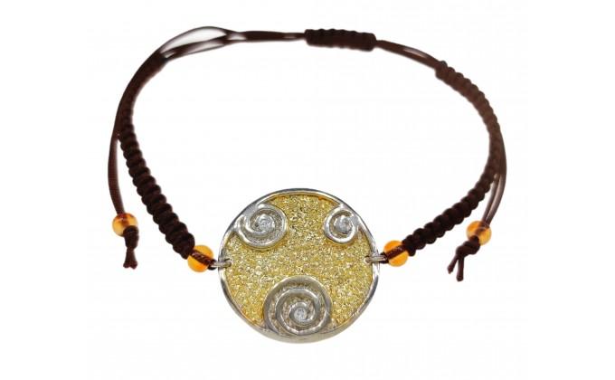 B 60 Handmade silver jewel bracelet zirgkon