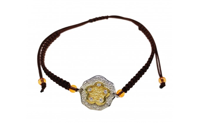 B 62 Handmade silver jewel bracelet zirgon