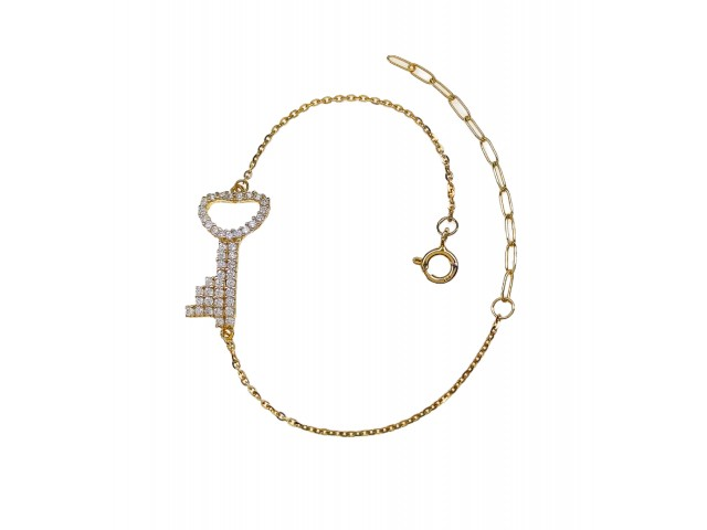 B 313 Silver bracelet
