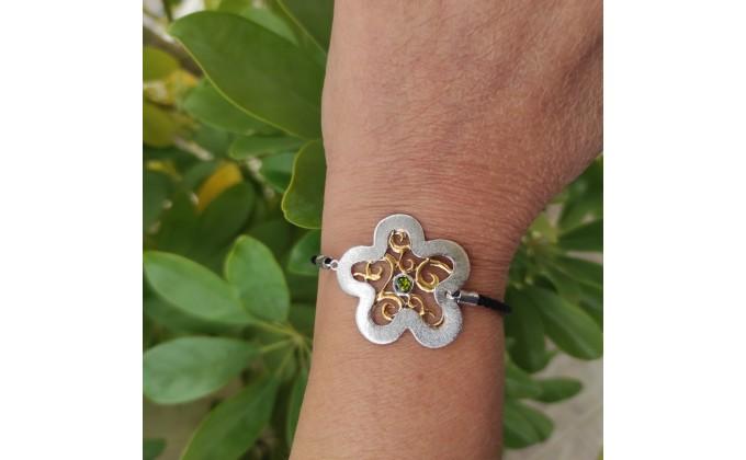 Β 397 Handmade silver bracelet