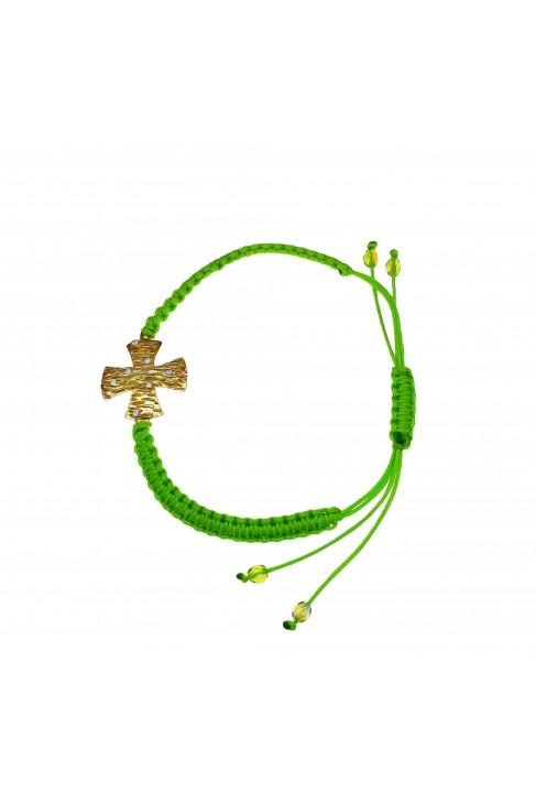 B 407 Silver bracelet zirgon