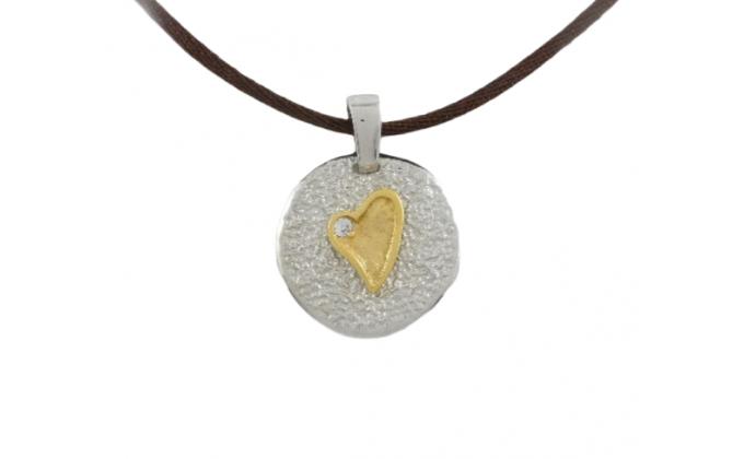 Μ 64 Handmade silver jewel pendant