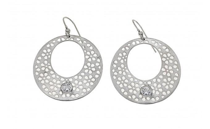 SK 61 Handmade silver earrings