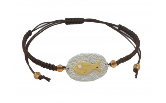 B 65 handmade silver jewel bracelet