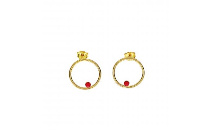 SK 214 Sterling silver earrings