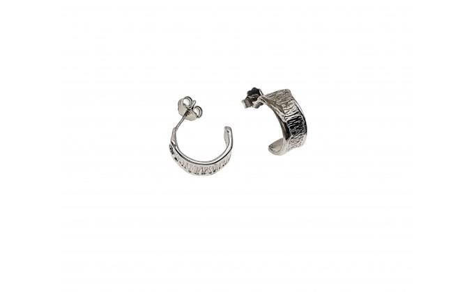 Sk 354 silver earrings
