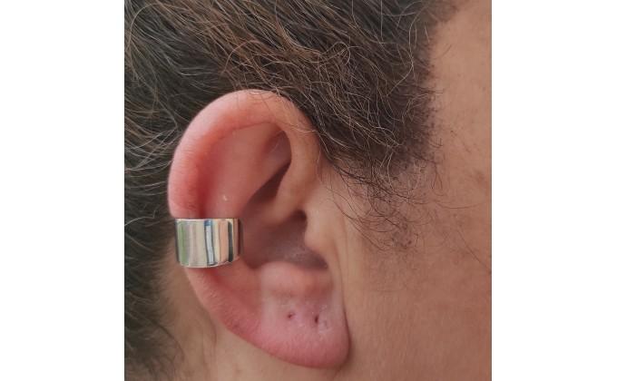 SK 359 SILVER CUFF EARRINGS