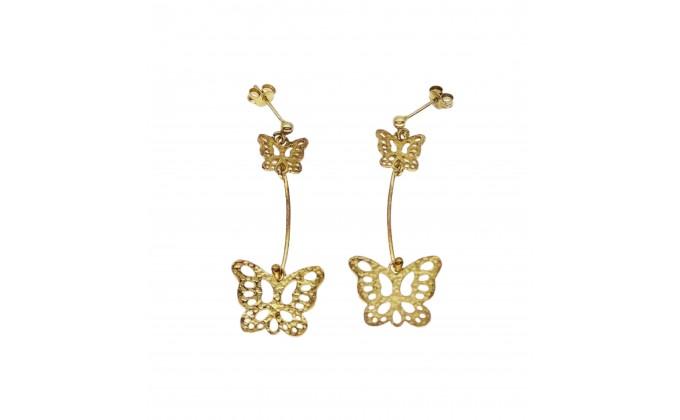 SK  50  Silver earrings