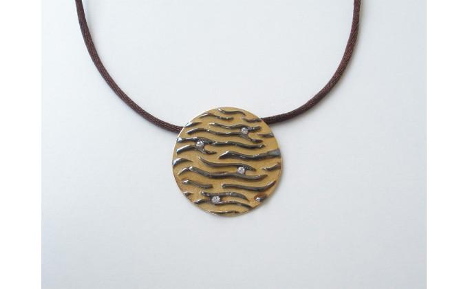 M 393 Handmade silver  pendants