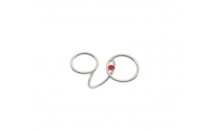 D 294sm silver ring