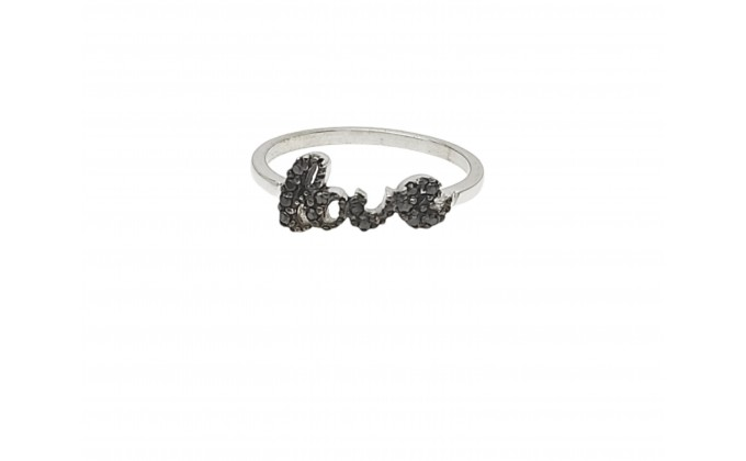 D321 Silver jewel ring zirgon