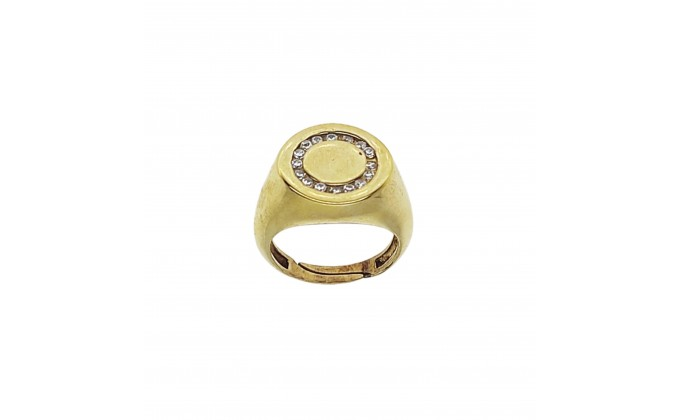 D 386 silver ring