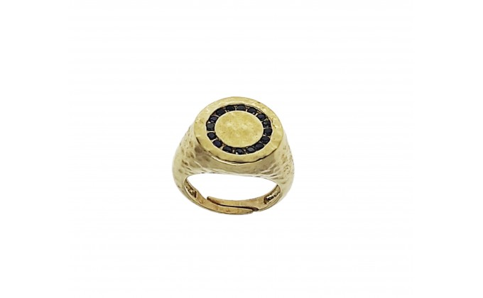 D 386gb SILVER RING