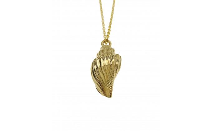 Silver seashell 8