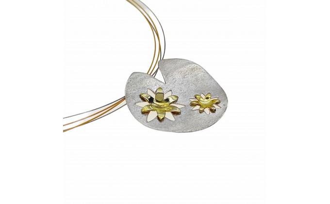 M 39 mat Handmade silver pendants