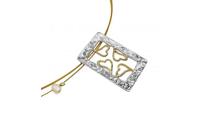 M 3 Handmade silver pendants