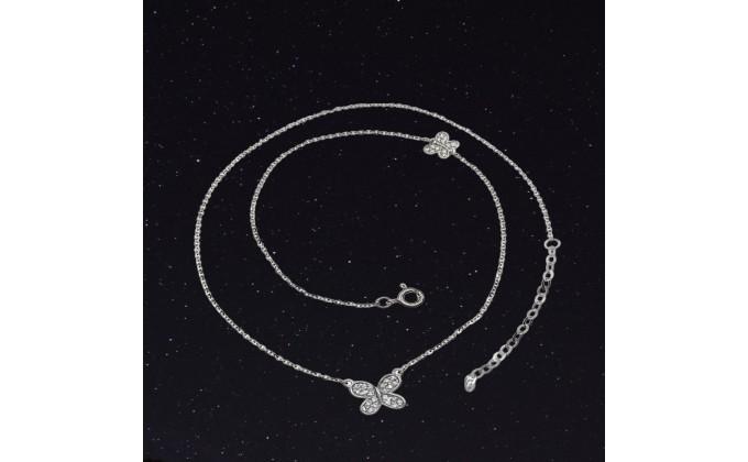 M 293 M 293 Silver necklace zirgon