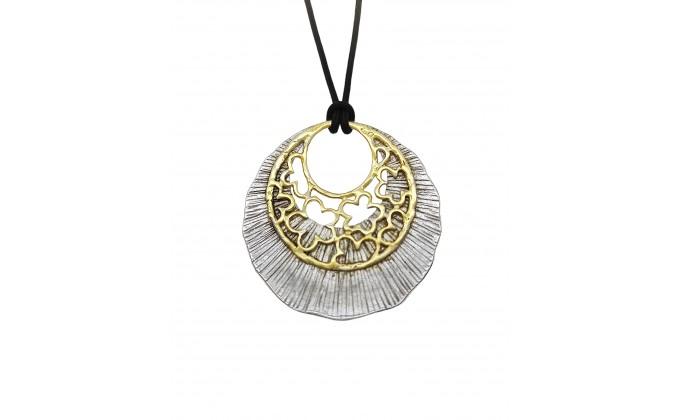 M 409 handmade silver jewel pentant