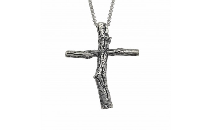 ST 123  Silver necklace