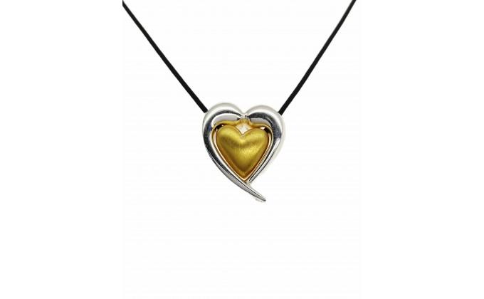 Handmade silver necklace
