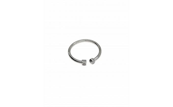 D 416 SILVER RING