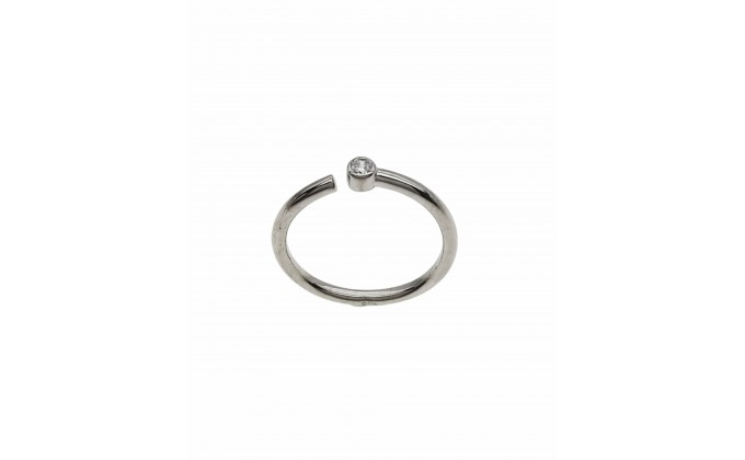 D 418 SILVER RING
