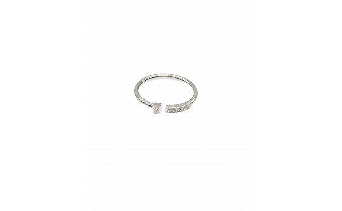 D 421 SILVER RING