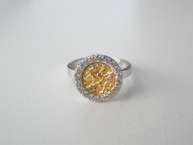D 300 Silver ring