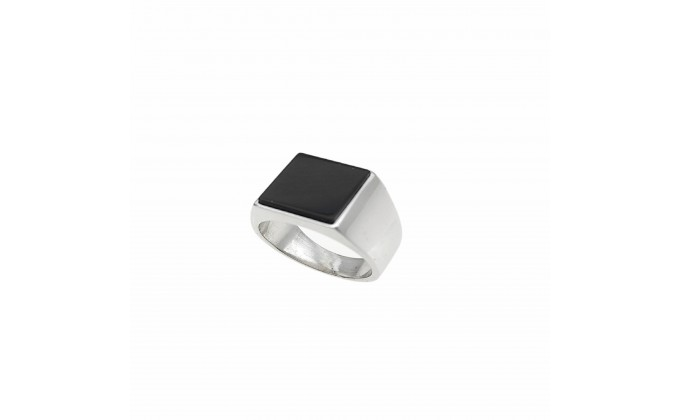 D 430 SOLID SILVER RING