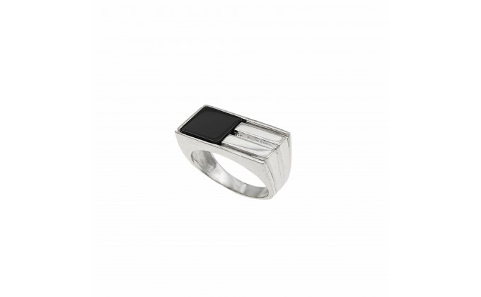 D 408 STERLING SILVER RING