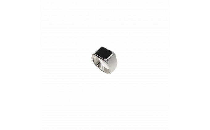 D 80 SOLID SILVER RING