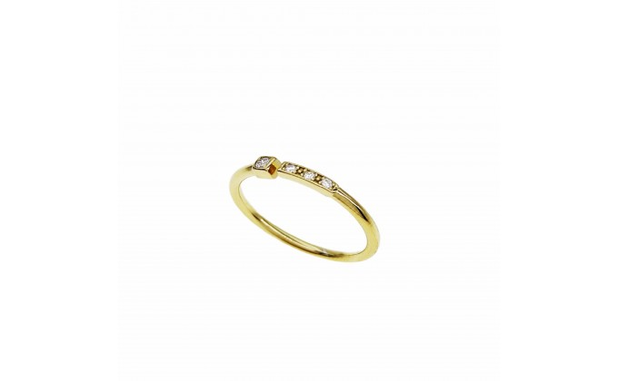 D 421g  Silver ring