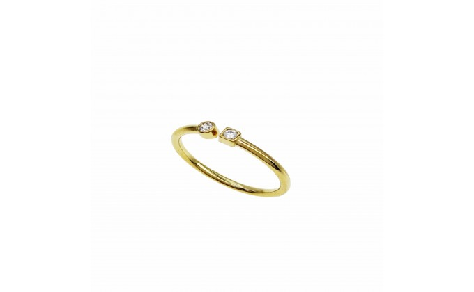 D 416g Silver ring