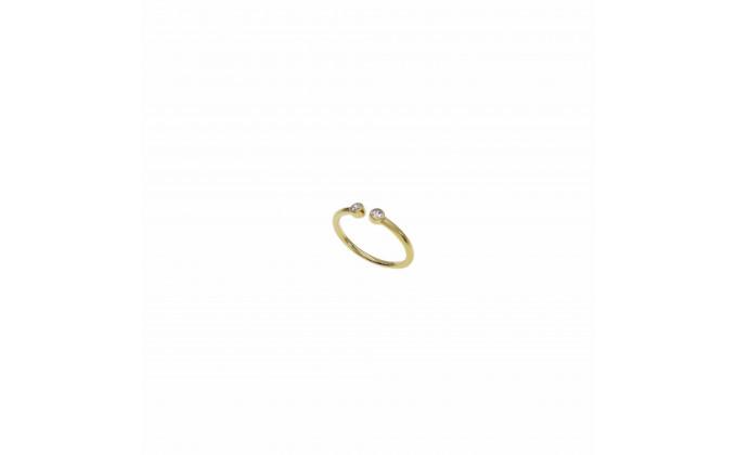D 420g silver ring zircon