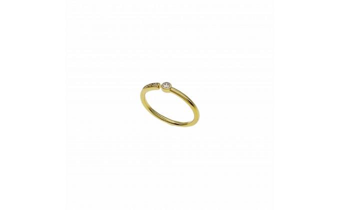 D 422g silver ring zircon