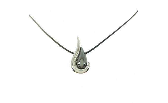 M 334s Handmade silver necklace