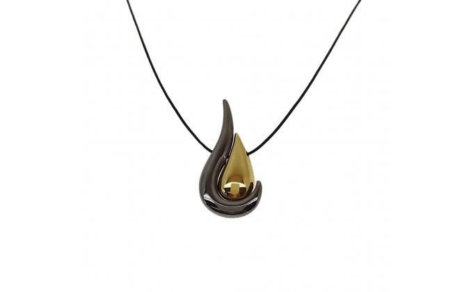 Μ 334b handmade silver necklace