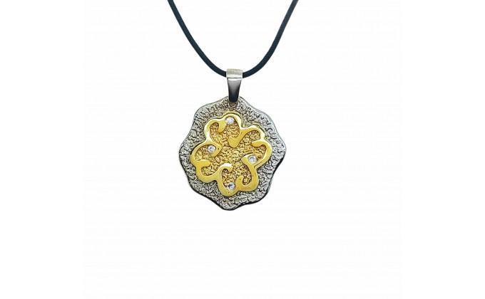 M 57 Handmade necklace