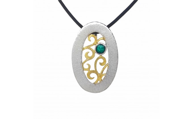 M 404sm Handmade silver pendants