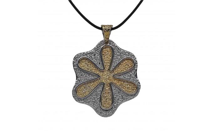 "Women""s handmade silver necklace"