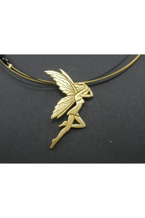 "M76 Handmade silver jewel pentand ""FAIRY"""