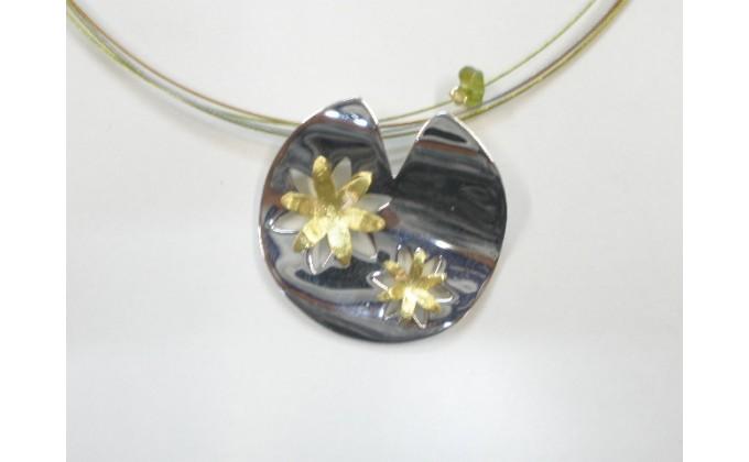 M 39 Handmade silver pendants