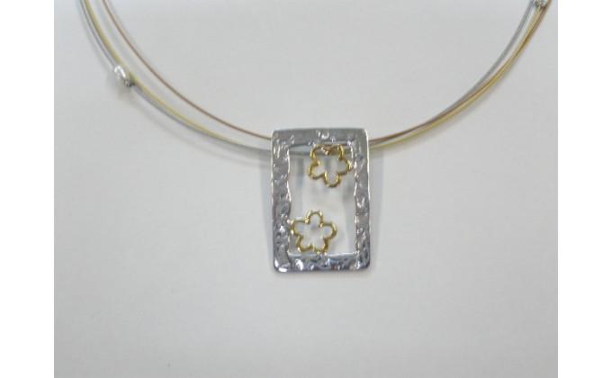 M 1  Handmade silver pendants
