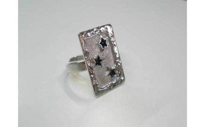 D 5sm  Handmade silver ring enamel