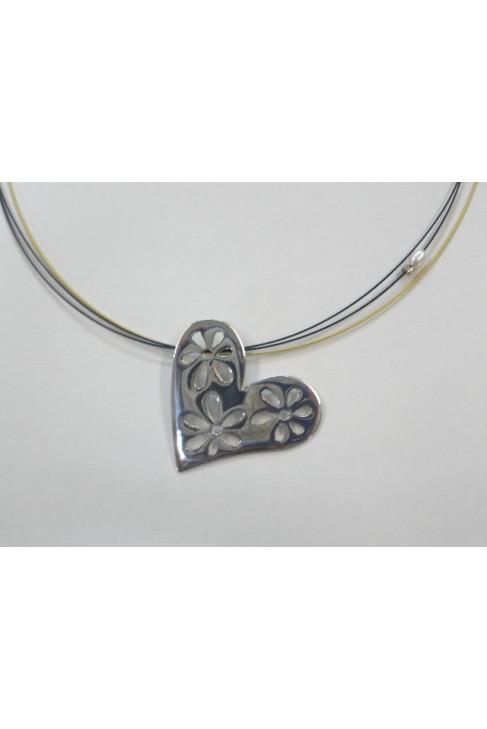 M 13 Handmade pendant HEART