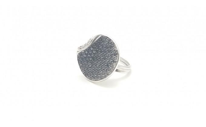 Δ1001 Ασημένιο δαχτυλίδι